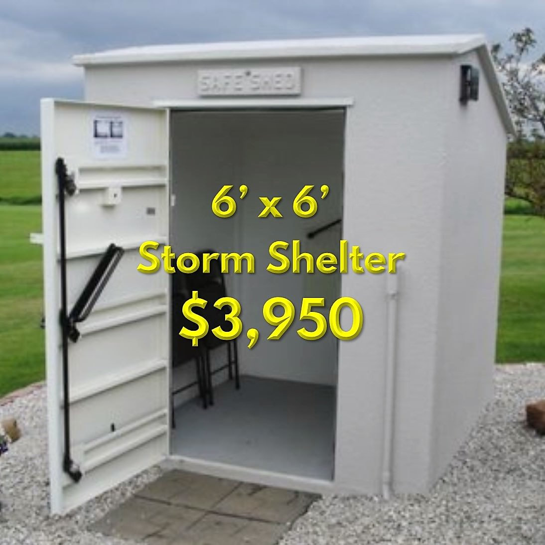 Small Family Tornado Shelter