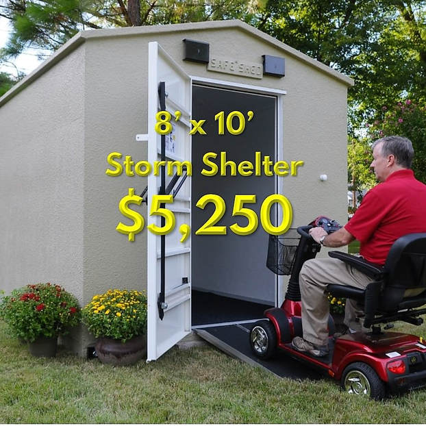 Storm Shelters For Your Family Safe Sheds Inc