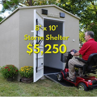 Above Ground Storm Shelter